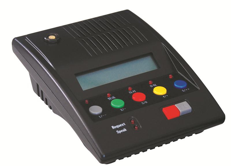 WC9600-1 Wireless Chairman Voting Unit